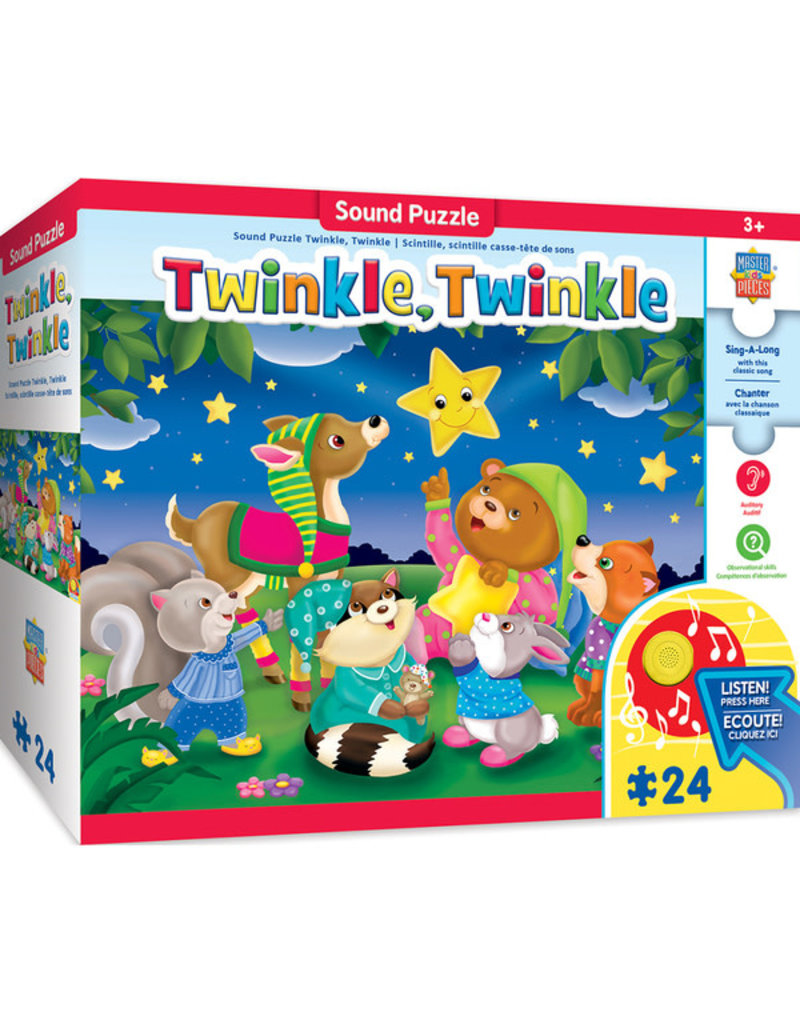 Masterpieces Puzzles Twinkle, Twinkle Sing-a-Long 24 pc