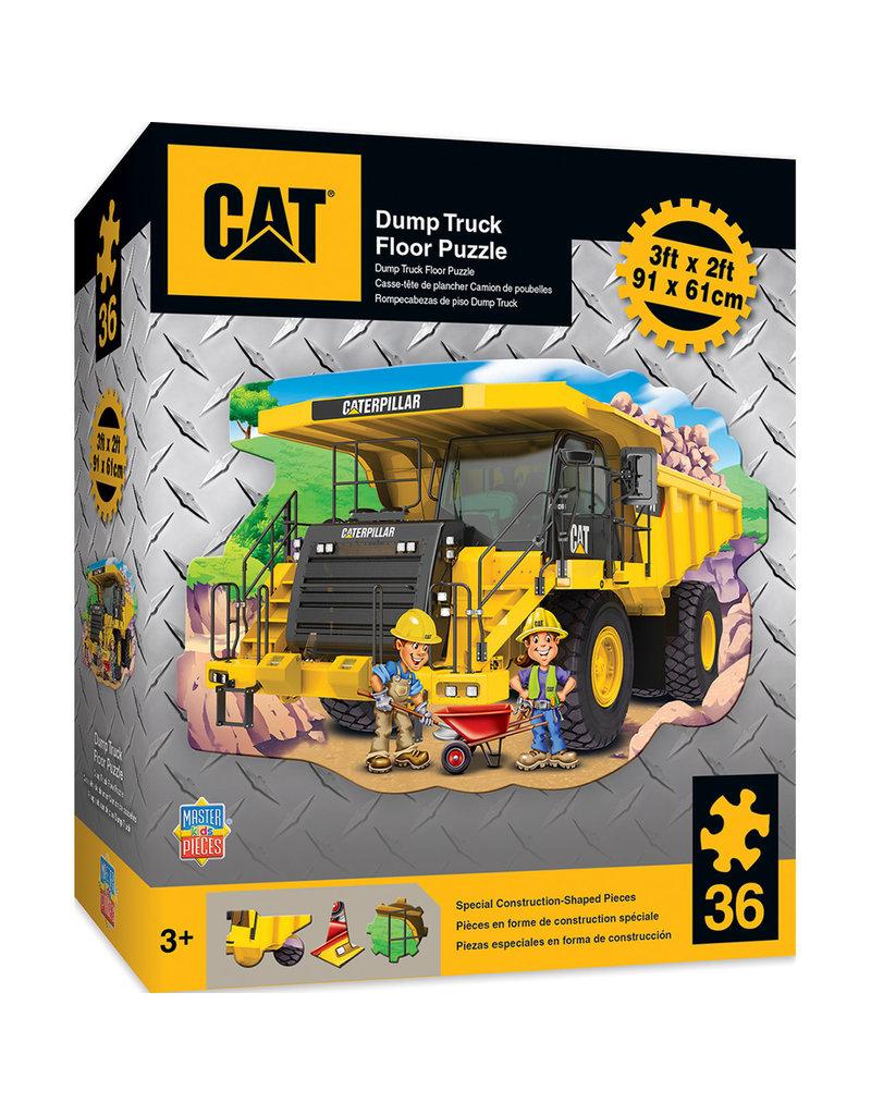 Masterpieces Puzzles Caterpillar Dump Truck Floor Puzzle