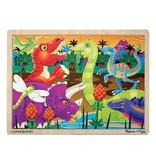 Melissa and Doug Dinosaur - 24 pc Tray