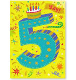 Peaceable Kingdom You're 5 Birthday Card