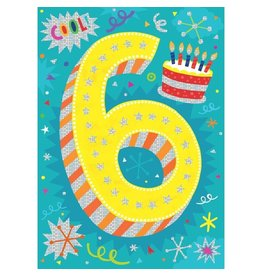 Peaceable Kingdom You're 6 Birthday Card