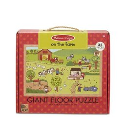 Melissa and Doug On the Farm Floor Puzzle