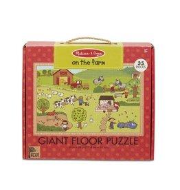 Melissa and Doug On the Farm Giant Floor Puzzle