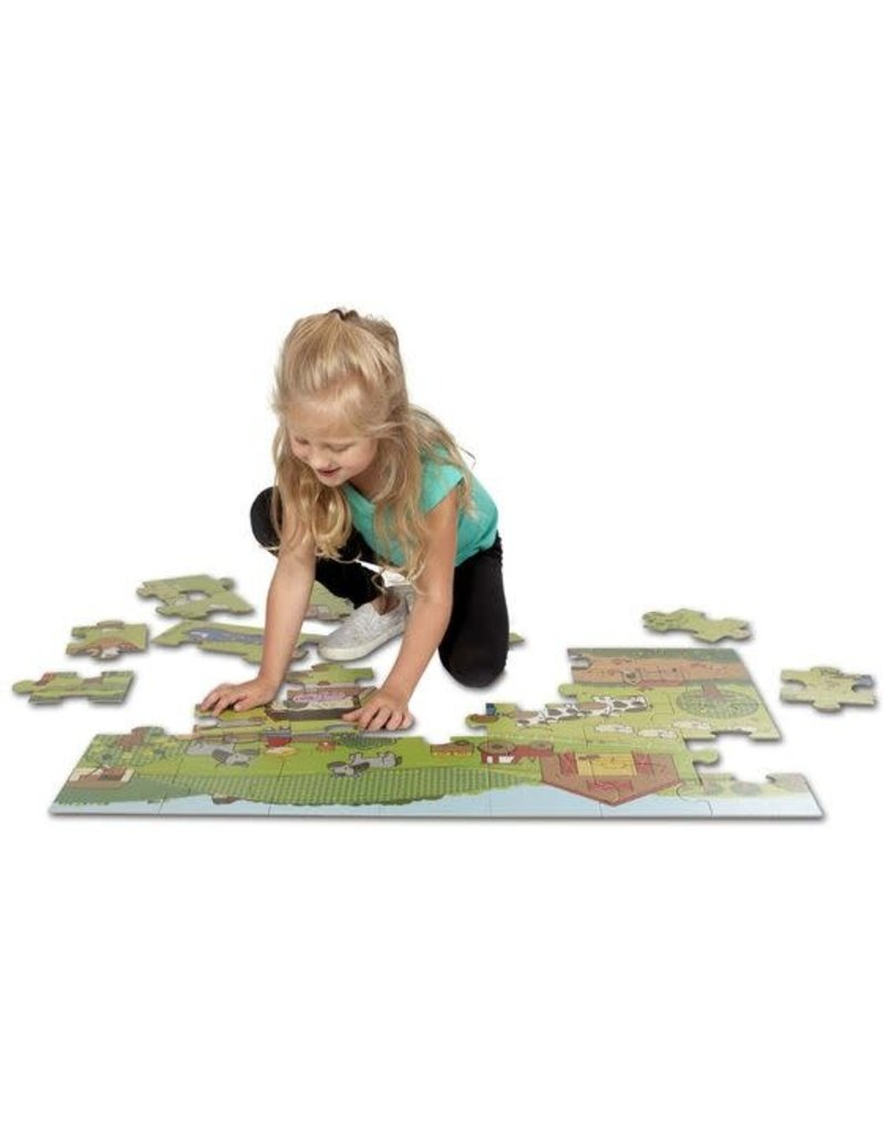 Melissa and Doug On the Farm Floor Puzzle