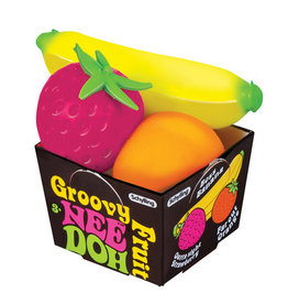 Schylling Groovy Fruit NeeDoh