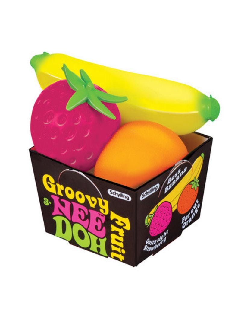 Schylling Groovy Fruit NeeDoh