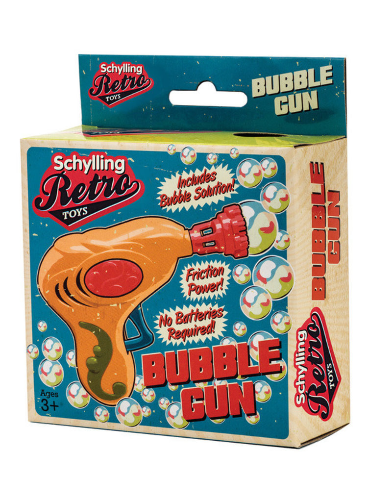 Schylling Retro Bubble Gun