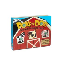 Melissa and Doug Old MacDonald's Farm Poke-a-Dot