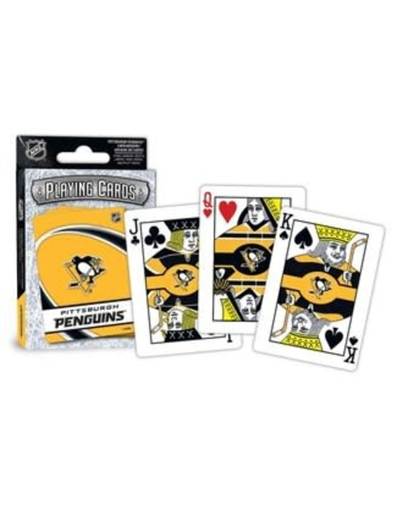 Masterpieces Puzzles Pittsburgh Penguins Playing Cards