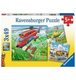 Ravensburger Above the Clouds 3x49 pzls