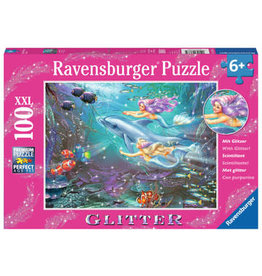 Ravensburger Little Mermaids 100 pc