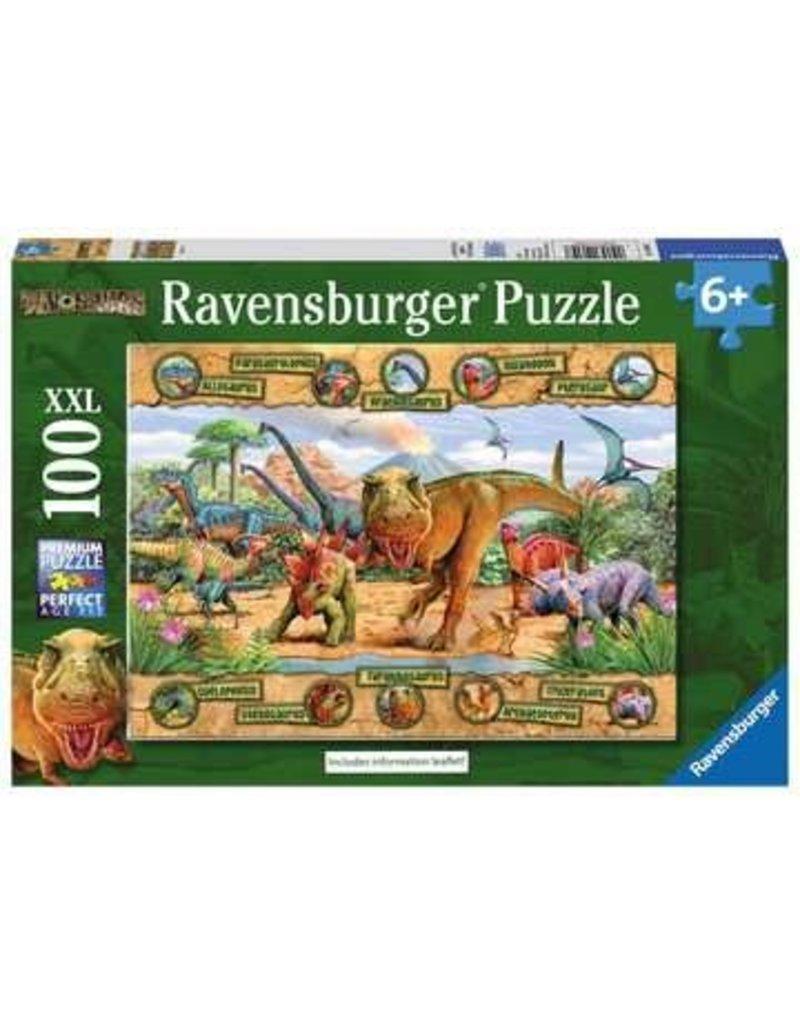 Ravensburger Dinosaurs 100 pc