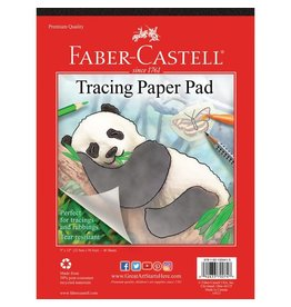 """Faber-Castell Tracing Paper Pad 9"""" x 12"""