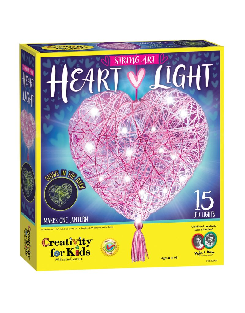 Faber-Castell String Art Heart Light