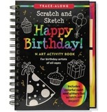 Peter Pauper Scratch and Sketch Happy Birthday