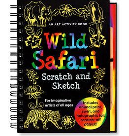 Peter Pauper Scratch & Sketch Wild Safari