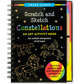Peter Pauper Scratch and Sketch Constellations