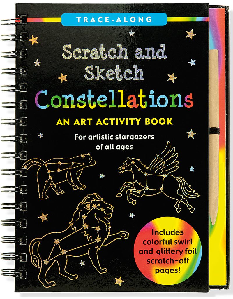 Peter Pauper Scratch & Sketch Constellations