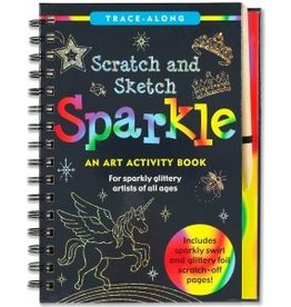 Peter Pauper Scratch and Sketch Sparkle
