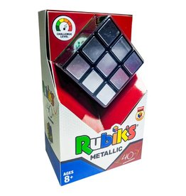 Winning Moves 40th Anniv Ed Metallic Rubik's Cube