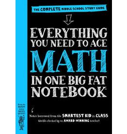 Workman Pub Big Fat Notebook - Math