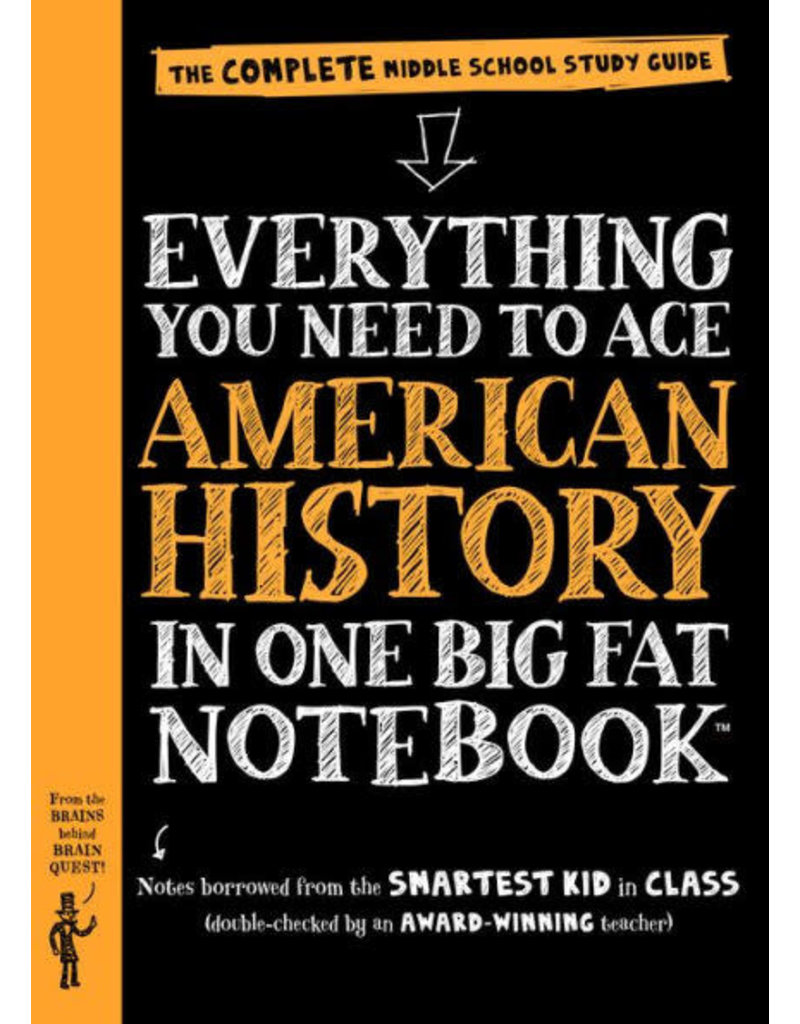 Workman Pub Big Fat Notebook - American History