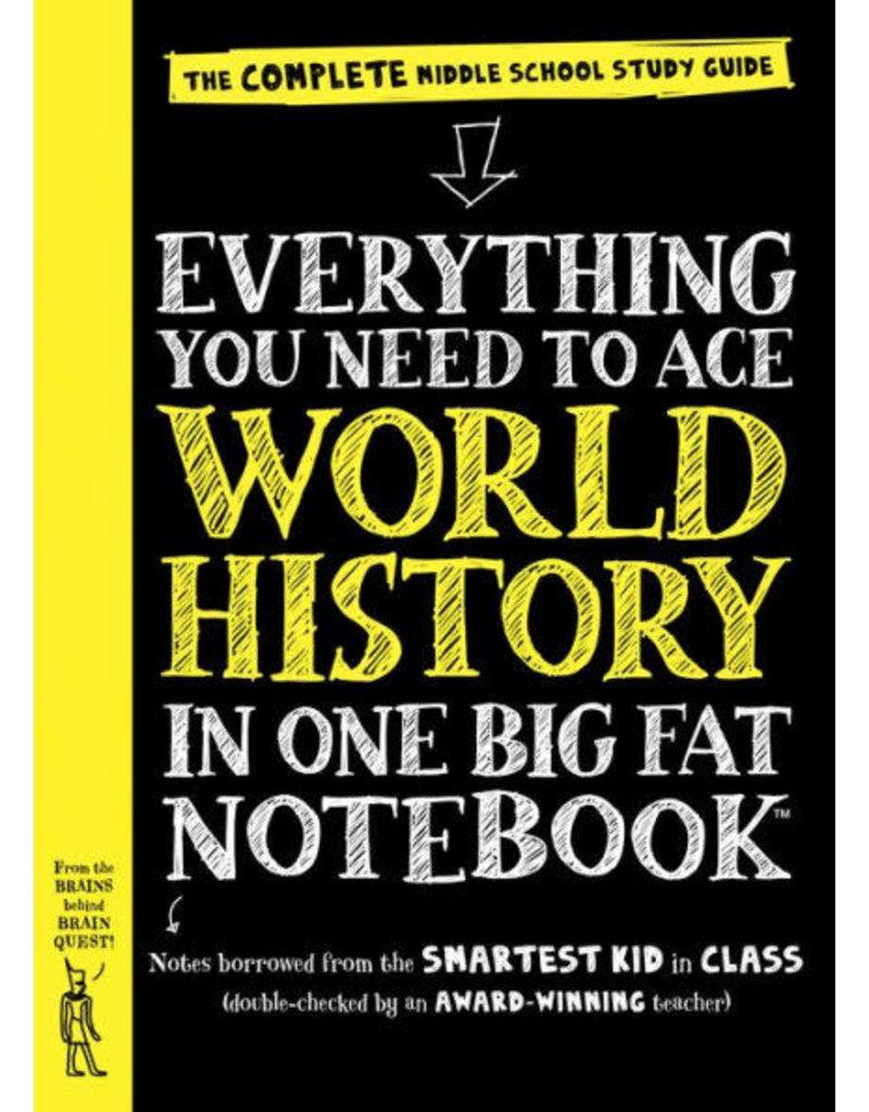 Workman Pub Big Fat Notebook - World History