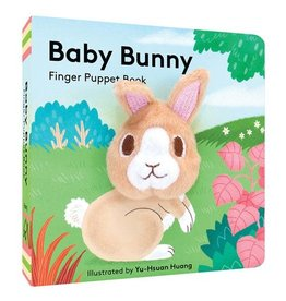Chronicle Books Baby Bunny: Finger Puppet Book- Easter