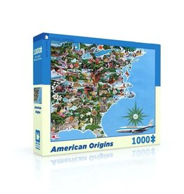 New York Puzzle Co American Origins 1000 pc