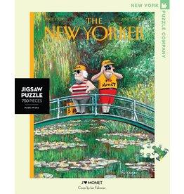 New York Puzzle Co J'aime Monet 750 pc