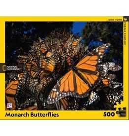 New York Puzzle Co Monarch Butterflies 500 pc