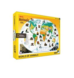 New York Puzzle Co World Animals 300 pc