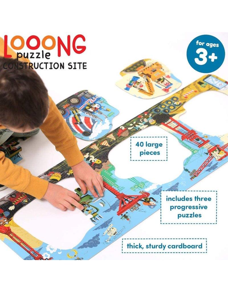 banana panda Looong Puzzle Construction Site