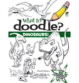 Dover What to Doodle? Dinosaurs!