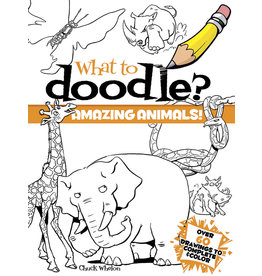 Dover What to Doodle? Amazing Animals!