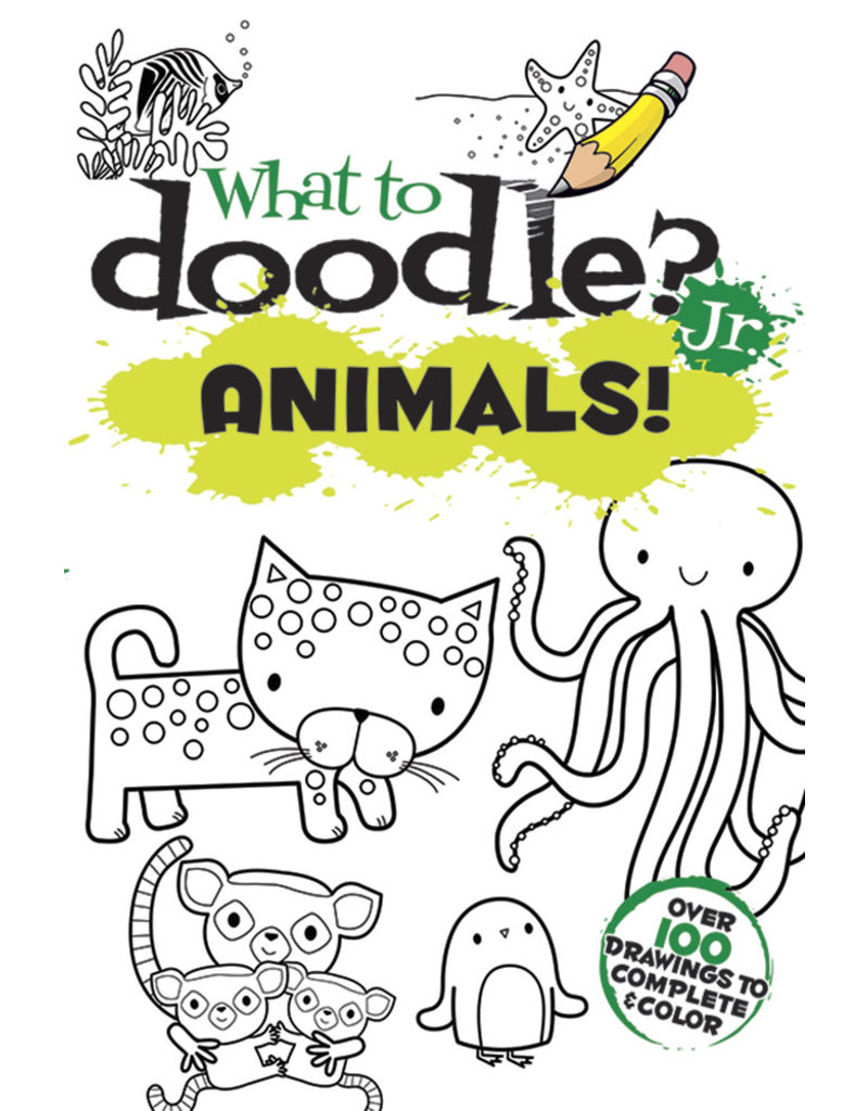 Dover What to Doodle? Jr. Animals
