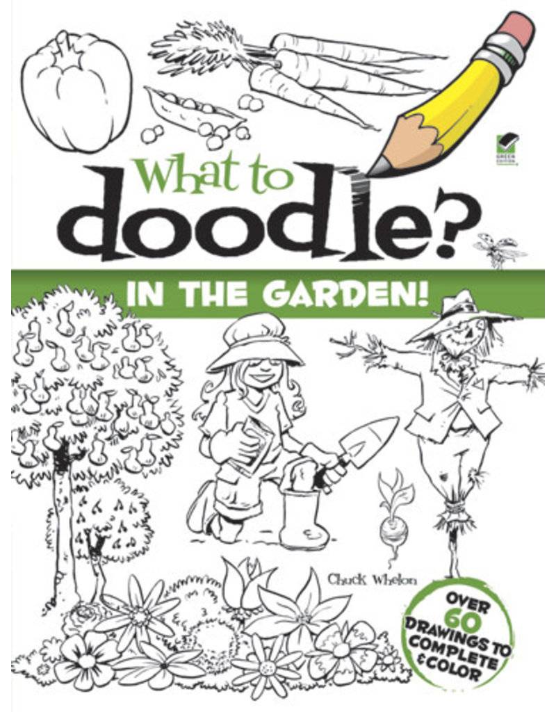 Dover What to Doodle? In the Garden!