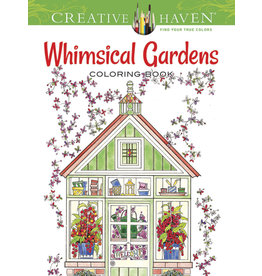 Dover Whimsical Gardens Coloring Book