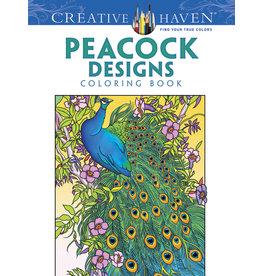 Dover Peacock Designs Coloring Book