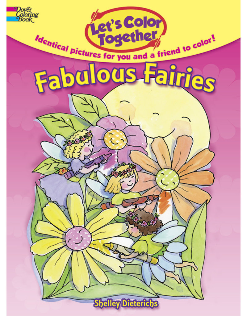Dover Fabulous Fairies Let's Color Together