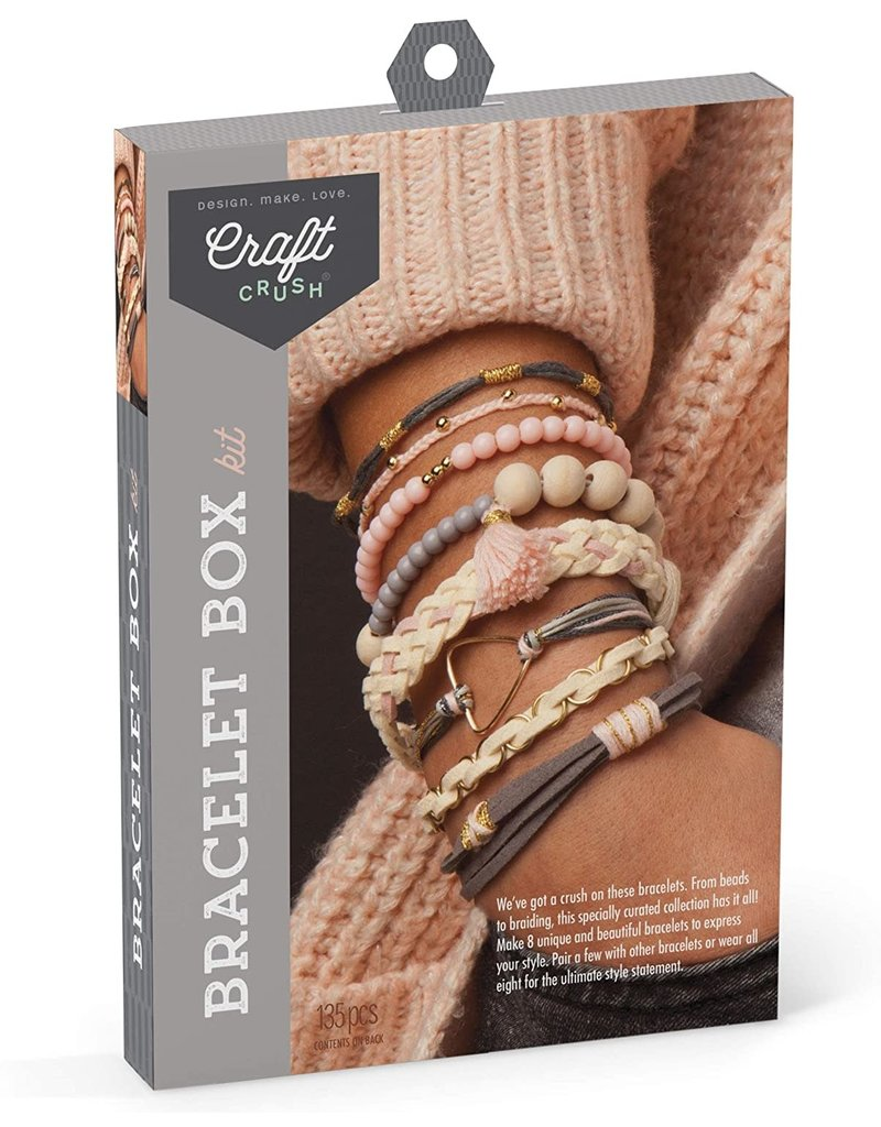 Ann Williams Craft Crush Bracelet Box - Blush