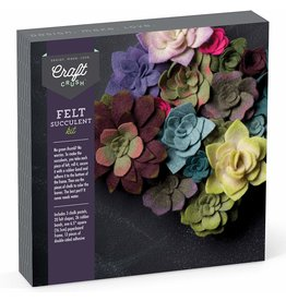 Ann Williams Group Craft Crush Felt Succulents Kit