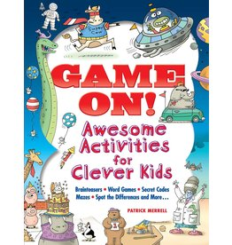 Dover Game On: Awesome Activities for Clever Kids