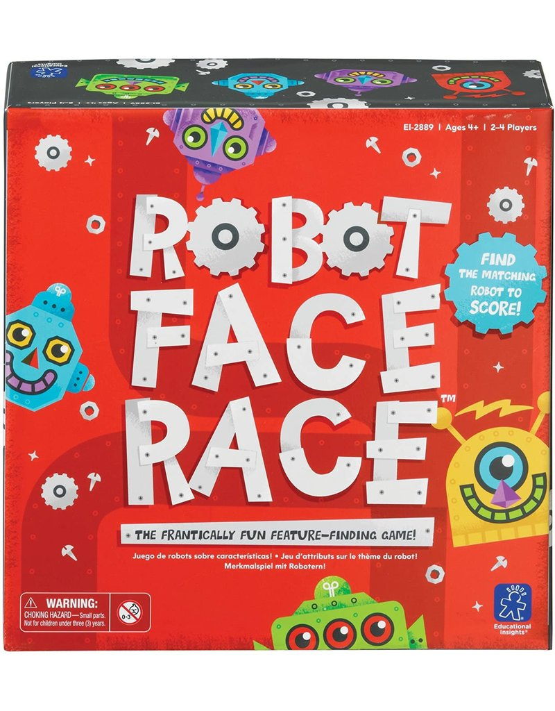 Educational Insights Robot Face Race