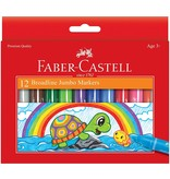 Faber Castel Jumbo Markers 12 ct