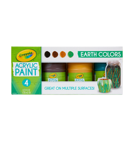 Crayola Multi Surface Acrylic Earth colors