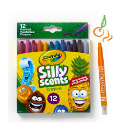 Crayola Silly Scents Twistables Scented Crayons