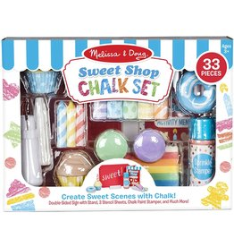 Melissa and Doug Sweet Shop Chalk Set