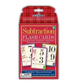 Eeboo Subtraction Flash Cards