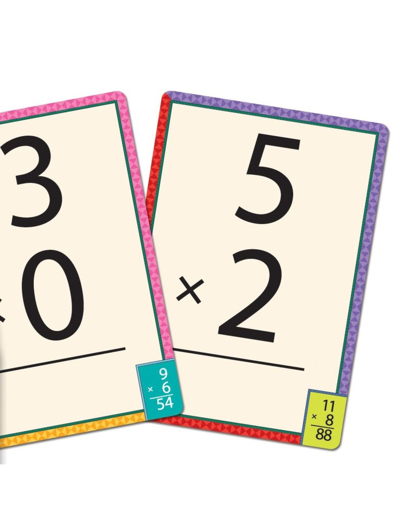 Eeboo Multiplication Flash Cards